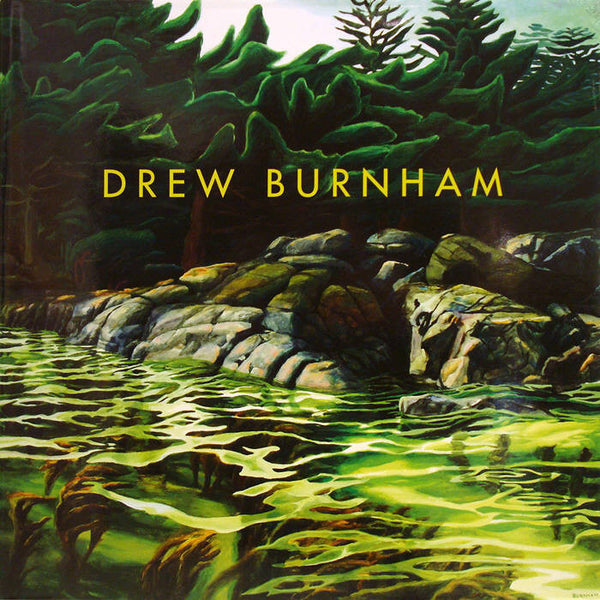 Drew Burnham Artwork | Colorful surreal stylized West Coast landscape oil painting.
