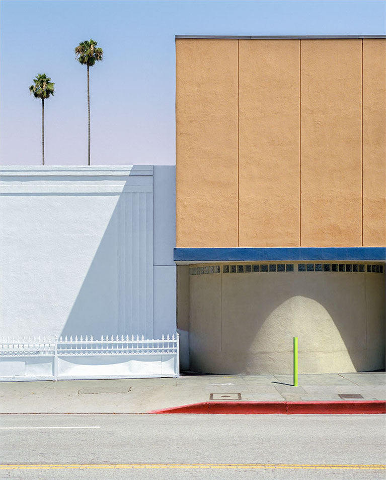 George Byrne - Hollywood Toyota - 1 size, $4,200, Archival Pigment Print on Archival Substrate, Framed in White,  - Bau-Xi Gallery
