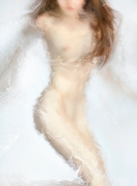 Barbara Cole - Dispersion, from Figure Painting - 4 sizes, $7,000-$18,000, Chromogenic Print Face-Mounted to Plexiglass, Back-Mounted to Hidden Aluminum Channel,  - Bau-Xi Gallery