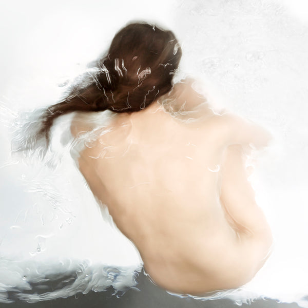 Barbara Cole - Sfumato, from Figure Painting - 3 sizes, $7,500-$15,300, Chromogenic Print Face-Mounted to Plexiglass, Back-Mounted to Hidden Aluminum Channel,  - Bau-Xi Gallery
