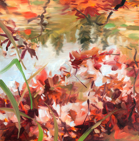 Maples With Reflection