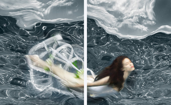 Barbara Cole - Flow - 2 sizes, $12,000-$16,000, Digital Inkjet Print, Mounted to ACP Panel,  - Bau-Xi Gallery