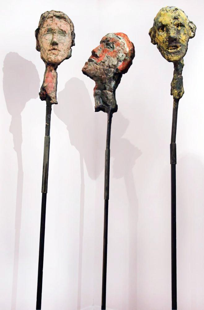 Ted Fullerton - Lollipop Heads, Price per Sculpture,  - Bau-Xi Gallery