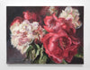 Jamie Evrard - Bouquet with Red Peonies, Oil on Canvas, Unframed,  - Bau-Xi Gallery