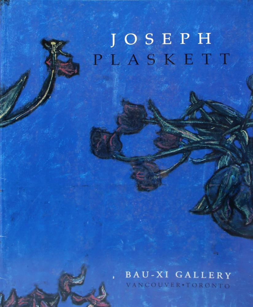 Joseph Plaskett - Celebration: Oil and Pastel, Joseph Plaskett Book, 2001, (30 pages), Soft Cover Book,  - Bau-Xi Gallery