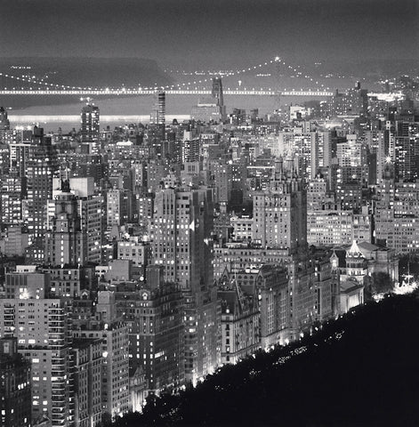 Upper Manhattan and George Washington Bridge, New York