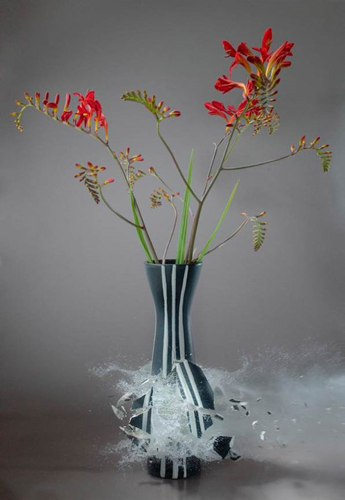 Martin Klimas - Untitled (Crocosmia) - 2 sizes - $13,950-$22,500, Archival Inkjet Print Mounted on Archival Substrate, Framed in Grey with Museum Glass,  - Bau-Xi Gallery