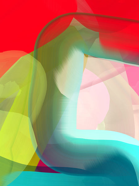 Anda Kubis - Moment, Digital Image on Canvas, Unframed,  - Bau-Xi Gallery
