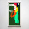 Anda Kubis - Volley 1, Digital Image on Paper, Framed in White,  - Bau-Xi Gallery
