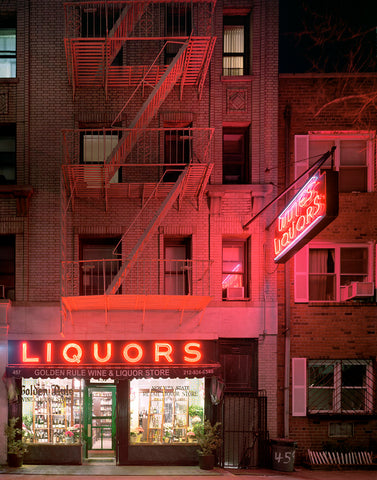 Golden Rule Wine & Liquor Store, 457 Hudson Street, West Village, New York