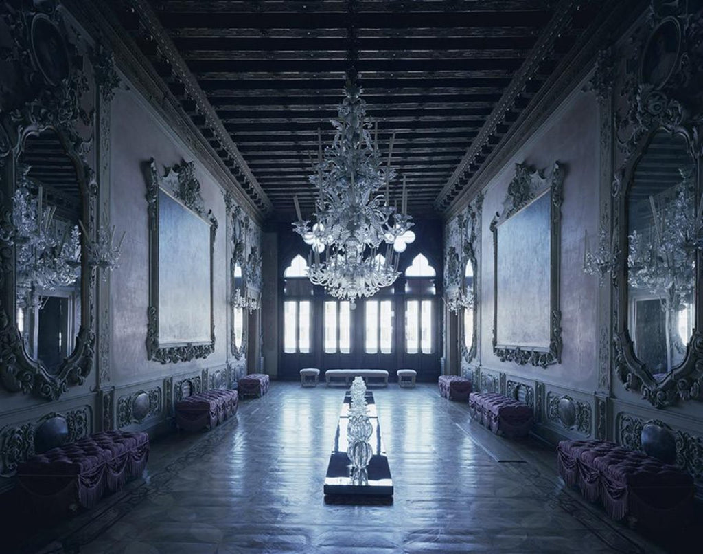 David Leventi - Palazzo Giustinian dalle Zogie - 3 sizes, $11,450-$33,950, Fujicolor Crystal Archive Print Mounted on Archival Substrate, Framed in White with Plexiglass,  - Bau-Xi Gallery