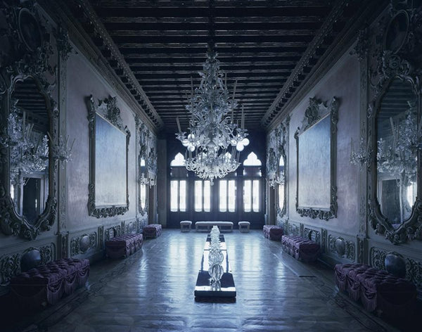David Leventi - Palazzo Giustinian dalle Zogie, Fujicolor Crystal Archive Print Mounted on Archival Substrate, Framed in White with Plexiglass,  - Bau-Xi Gallery