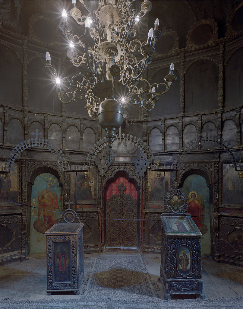 David Leventi - Shrine Arbore Monastery, Romania - 3 sizes, $10,600-$31,500, Fujicolor Crystal Archive Print Mounted on Archival Substrate, Framed in White with Plexiglass,  - Bau-Xi Gallery