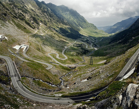 Transfagarasan Highway, Romania - 3 sizes, $10,600-$31,500