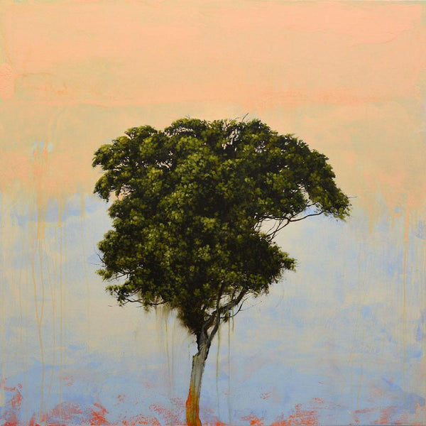 Robert Marchessault - Sea Grape, Oil on Canvas & Panel, Unframed,  - Bau-Xi Gallery