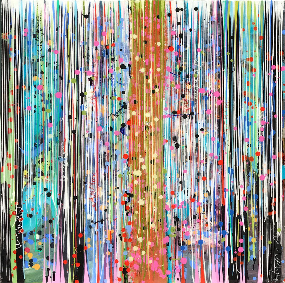 Pat O'Hara - Hard Candy, Acrylic on Panel with Resin, Unframed,  - Bau-Xi Gallery
