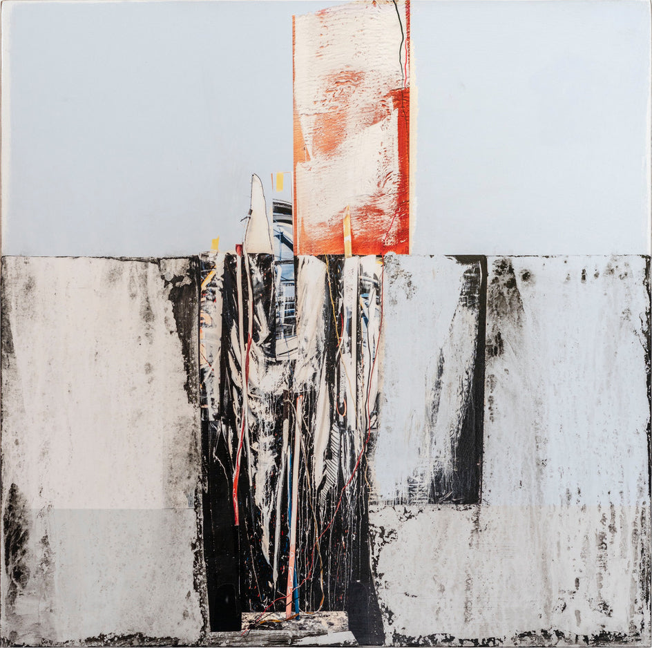 Andre Petterson - Rise, Mixed Media on Panel, Unframed,  - Bau-Xi Gallery