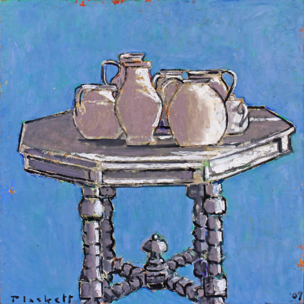 Joseph Plaskett - Untitled Still Life, Oil on Linen, Unframed,  - Bau-Xi Gallery