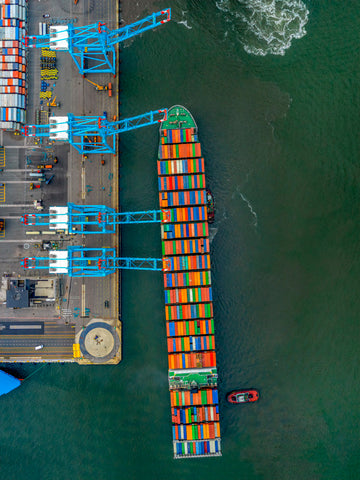 Port Newark Container Ship - Available in 5 sizes