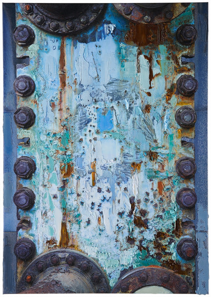 Anthony Redpath - Blue Alice - 36x25.5 in. - $7,350, Oil and Digital Print on Canvas, Unframed,  - Bau-Xi Gallery