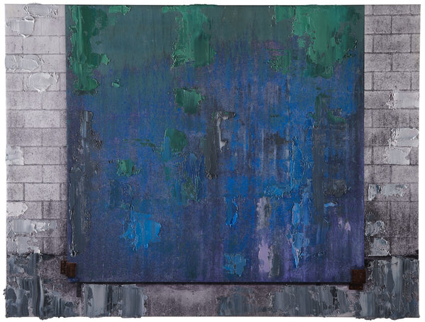 Anthony Redpath - Duncan Door - 27x36 in. - $7,800, Oil and Digital Print on Canvas, Unframed,  - Bau-Xi Gallery