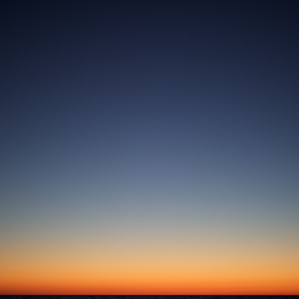 Chris Shepherd - After Sunset Lake Huron - 2 sizes, $3,100-$5,000, Chromogenic Print Mounted to Archival Substrate, Framed in White with Glass,  - Bau-Xi Gallery