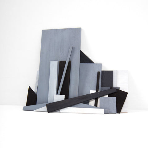 Six Sheets of Plywood, Maquette, Version 1  - 3 sizes, $1,350-$4,300