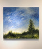 Sheri Bakes - Night Light, Oil on Canvas, Unframed,  - Bau-Xi Gallery
