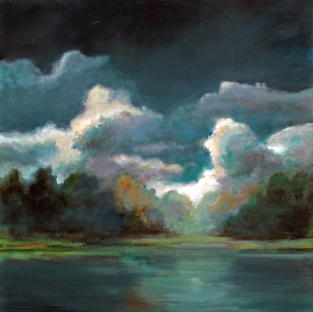 Stuart Slind - Morning Idyll, Oil on Canvas, Unframed,  - Bau-Xi Gallery