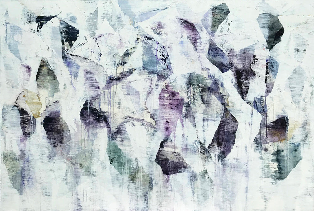Gordon Wiens - Fading Forms, Acrylic on Canvas, Unframed,  - Bau-Xi Gallery