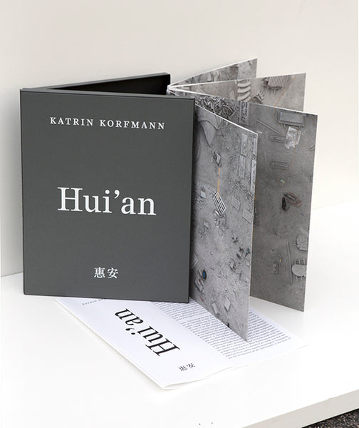 Katrin Korfmann - Hui'an, accordion artist book, 2015, Accordion style artist book,  - Bau-Xi Gallery