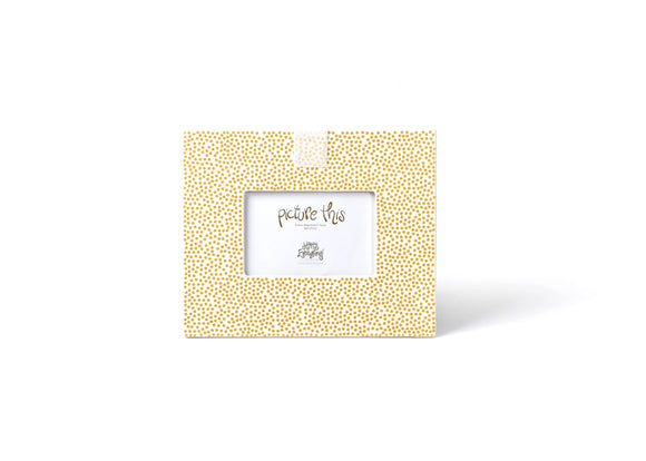 Coton Colors CC -FRM-11-GLD Gold Small Dot Mini Frame