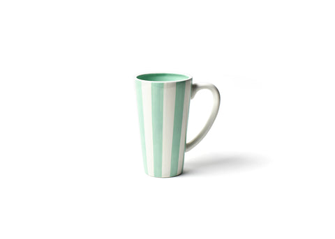 Coton Colors CC-STR-6MUG-MNT Mint Stripe 6 Mug