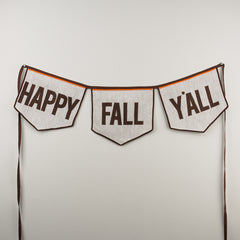 Glory Haus Inc. GH 7990508 Happy Fall Y'all Banner
