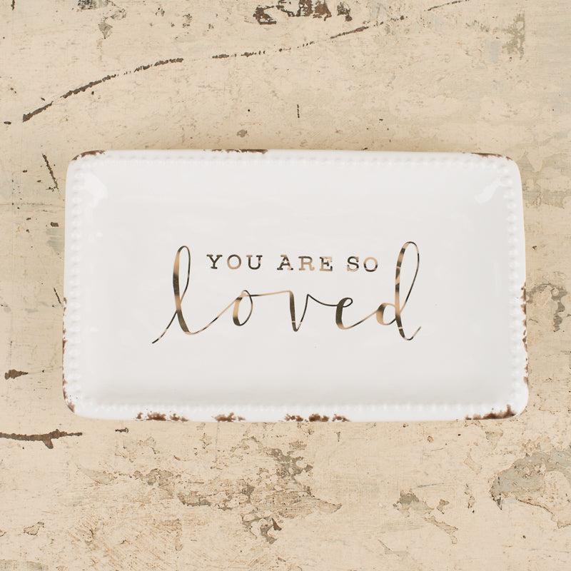 Glory Haus Inc. - GH-28100003 You Are So Loved Trinket Tray