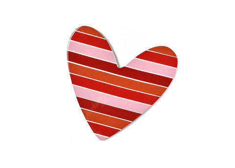 Coton Colors CC ATT-STRPHRT2 Striped Heart Big Attachment