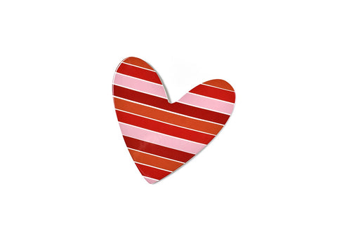 Coton Colors CC ATT MINI-STRPHRT2 Striped Heart Mini Attachment