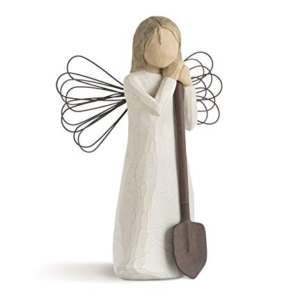 Willow Tree WT- 26103 Angel of The Garden Figurative Sculpture
