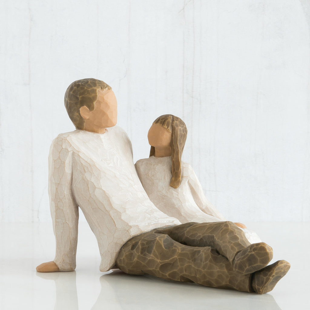 Willow Tree WT-26031 Father & Daughter Figurative Sculpture