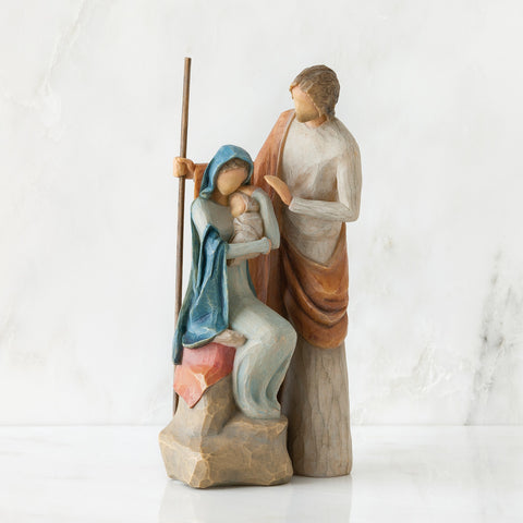Willow Tree WT-26290 The Holy Family Figurative Sculpture