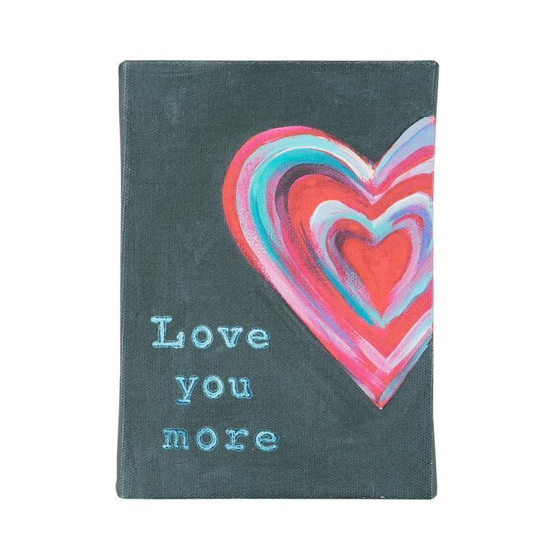Glory Haus Inc. GH 10100041 I Love You More Canvas