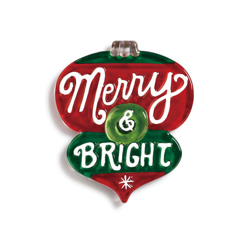 DEMDACO 2020180485 Merry & Bright Ornament Pop In