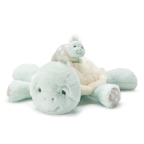 DEMDACO 5004700310 TL Taddles Turtle Mommy & Baby Musical
