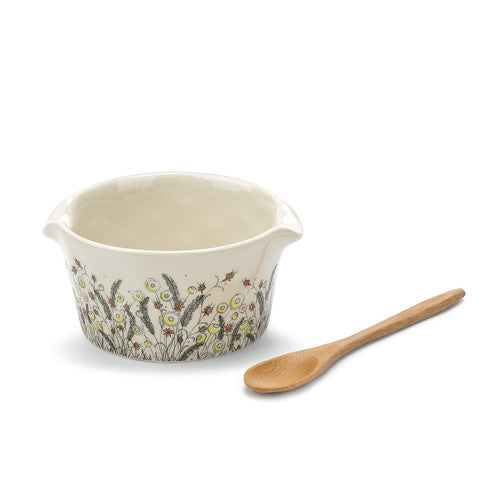DEMDACO 1004180370 Enjoy Every Moment Appetizer Bowl W/Spoon