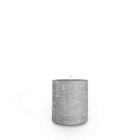 Root Candles RC 333PLT Timberline 3 x 3 Platinum Pillar Candle