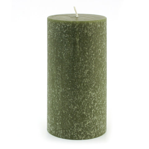 Root Candles 33672 Timberline 3 x 6 Dark Olive Pillar Candle