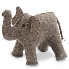 Mud Pie MP 12000042 Felt Elephant Bookend