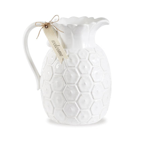 Mud Pie MP 4735032 Pineapple Pitcher