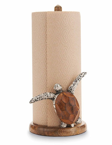 Mud Pie MP 4711002 Turtle Paper Towel Holder