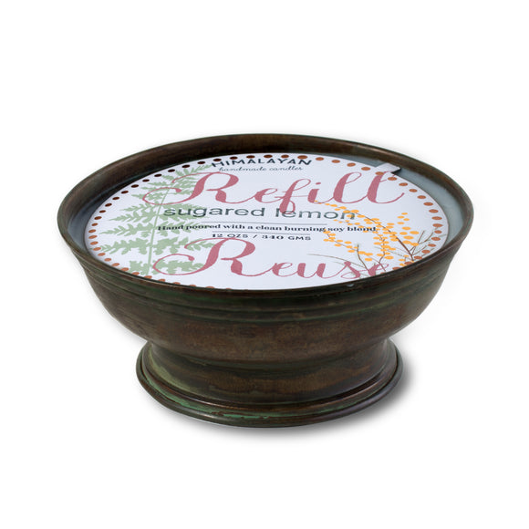 Himalayan Candle HC AWAY 01 SL Floataway Bowl Sugared Lemon